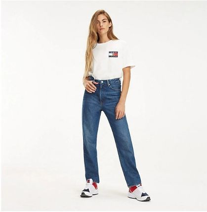 Tommy Hilfiger Tシャツ・カットソー 【Tommy Jeans】フラッグロゴ プリントTシャツ (関税送料込)(11)