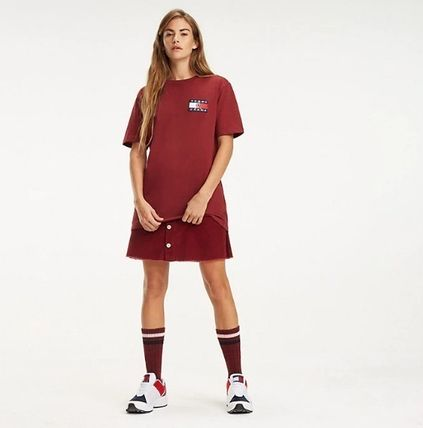 Tommy Hilfiger Tシャツ・カットソー 【Tommy Jeans】フラッグロゴ プリントTシャツ (関税送料込)(15)