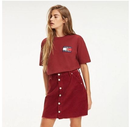 Tommy Hilfiger Tシャツ・カットソー 【Tommy Jeans】フラッグロゴ プリントTシャツ (関税送料込)(16)