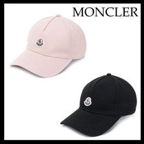 【19SS 新作★MONCLER(モンクレール)】ロゴパッチ キャップ 2色