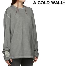 A-COLD-WALL(アコールドウォール) Tシャツ・カットソー ★A-COLD-WALL★ ロング スリーブ T シャツ★関税 送料込★