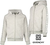 19ss▼GIVENCHY▼ロゴラインパーカーG G/14y 【安心国内発送】