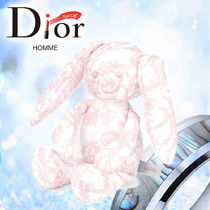 19SS 《Dior》 「TOILE DE JOUY」 ぬいぐるみ ウサギ ピンク