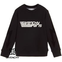 19ss★GIVENCHY 3Dロゴスウェット黒/10~12y【安心国内発送】
