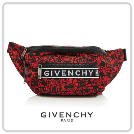 【GIVENCHY(ジバンシィ)】4G BUM BAG IN PRINTED NYLON