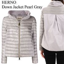 HERNO Down Jacket Pearl Gray