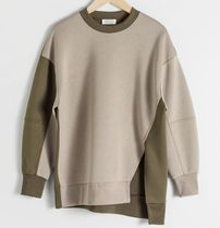 """""""& Other Stories"""" Oversized Patchwork Pullover Patchwork"""