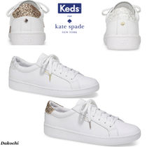 ★人気★ Kate Spade x Keds コラボ Leather Glitter Sneakers