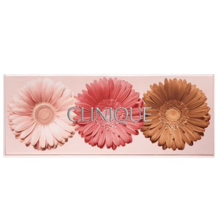 CLINIQUE チーク 限定☆CLINIQUE☆CHEEK POP☆ON THE GLOW☆フェイスパレット(4)