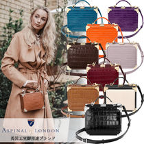 Aspinal of London(アスピナルオブロンドン) ハンドバッグ 【Aspinal of London】英王室愛用  The Mini Trunk Clutch