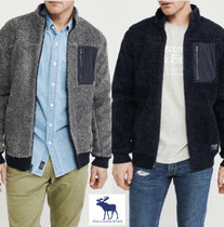Abercrombie Sherpa Full-Zip Jacket ☆ メンズ アバクロ