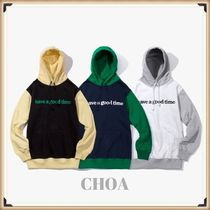 【HAVE A GOOD TIME】Block Pullover Hoodie  パーカー 3色