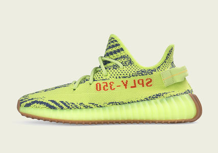 Men's YEEZY BOOST 350 V2 Semi-Frozen Yellow
