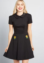 Spoken Sweetness Embroidered Dress
