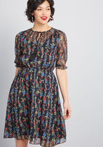 Ethereal Feeling Floral Dress