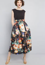 Inspired Arrival Floral Maxi Dress