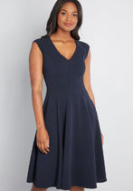 Date Night Done Right A-Line Dress
