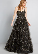 Sophisticated Stargazing Maxi Dress