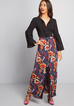 ModCloth x Anna Sui Rooted in Retro Maxi Dress