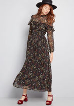 Sway for Days Floral Maxi Dress