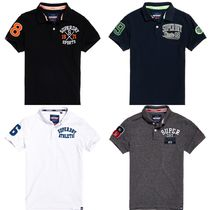 UK発Superdry19SS'Superstateバッジ付ポロシャツ'Classic4色