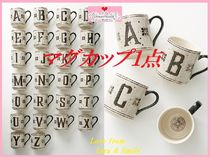 最安値保証*関送込【Anthro】Tiled Margot Monogram Mug 1点