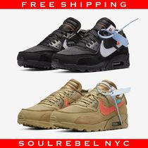 Off-White × Nike Air Max 90 Black / Desert Ore オフホワイト