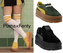 【日本未入荷】Puma x Fenty by Rihanna Cleated Creeper Suede