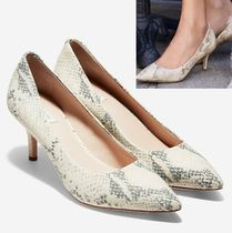 COLE HAAN Vesta Pumps 65mm スネークプリント