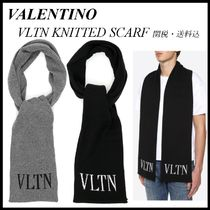*VALENTINO*VLTN KNITTED SCARF 関税/送料込