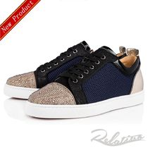 ☆日本未発売☆【Louboutin】Louis Junior P Strass Orlato