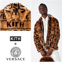 日本未発売!【KITH × VERSACE】FUR COACHES JACKET