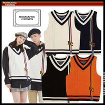 ★ROMANTIC CROWN★ RC Double Line Vest ベスト ユニセックス