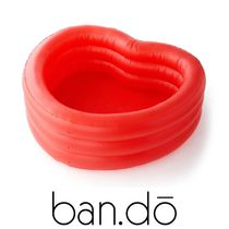 【ban.do】●大人気● HEART-SHAPED INFLATABLE POOL - HEART