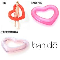 【ban.do】●大人気● BEACH, PLEASE! JUMBO HEART INNERTUBE
