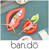 【ban.do】●大人気● POOL RING - CHERRY