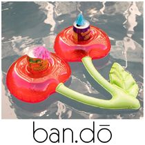 【ban.do】●大人気● INFLATABLE DRINK HOLDER - CHERRY
