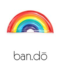 【ban.do】●大人気● LUXE LIE-ON FLOAT - RAINBOW