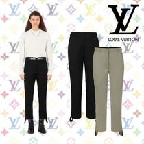 19SS《Louis Vuitton》PANTALON DROIT AVEC BANDES LATERALES