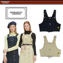 19SS ★ROMANTIC CROWN★ GNAC Overall Top クロップ ベスト 2色