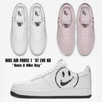 NIKE★AIR FORCE 1 '07 LV8 ND★HAVE A NIKE DAY★ロゴ★2色