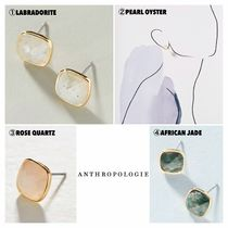 【ANTHROPOLOGIE】新作♡Olive Faceted Post Earrings