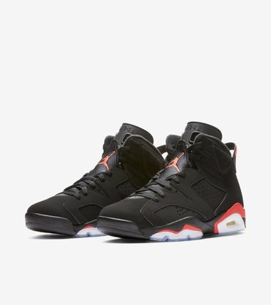 NIKE AIR JORDAN 6 RETRO BLACK INFRARED インフラレッド