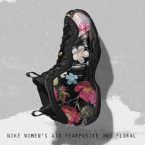 NIKE AIR FOAMPOSITE ONE FLORAL フラワー レディース