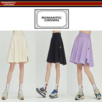 19SS ★ROMANTIC CROWN★ Mid Line Flare Skirt スカート 3色