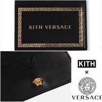 日本未発売【KITH × VERSACE】LEATHER CARDHOLDER カードケース