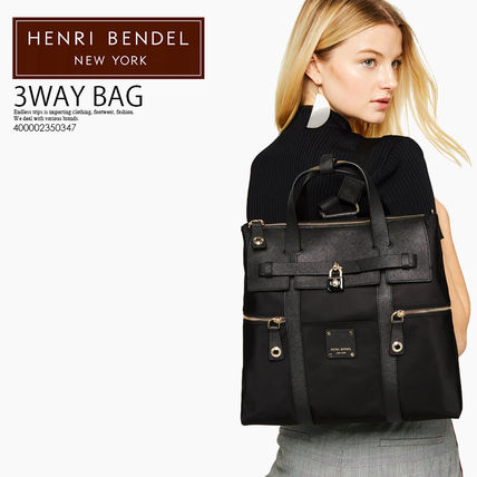 即納★海外限定★HENRI BENDEL★JETSETTER CONVERTIBLE BACKPACK