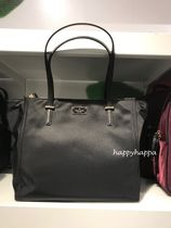 【kate spade】A4ファイル収納☆Talya軽いナイロントート(大)