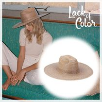 ☆Lack of color☆つば広麦わら帽子 ハット/Western Wide Palma