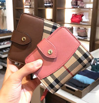 BURBERRY FINSBURY CHECK WALLET 4 COLORS